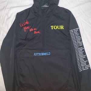 Travis Scott Astroworld No Bystanders Windbreaker